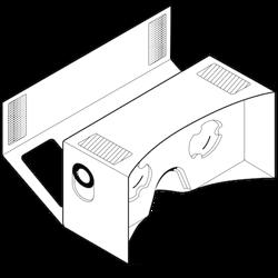 shade vr cardboard brille